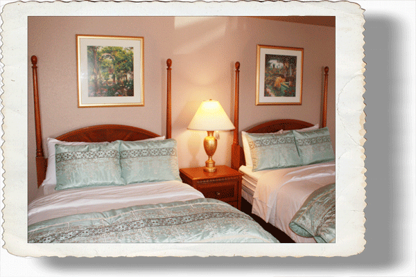Double Room with the feel of a Bed and Breakfast in Nocona Texas