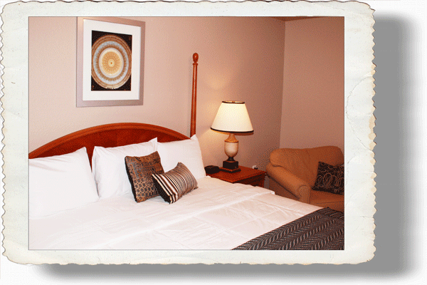 King Room with a Bed and Breakfast feel in Nocona Texas